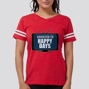 Addicted to Happy Days Womens Football Shirt